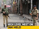 Video : Amit Shah Meets National Security Advisor, Intelligence Bureau Chief On J&K