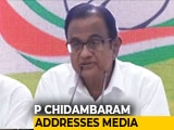 "Video : ""Have Not Been Accused Of Any Offence"", Says P Chidambaram On INX Case"