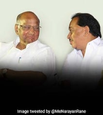 'Mistake Or Blunder?': Sharad Pawar Recalls Narayan Rane's Congress Move