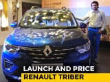 Video : Renault Triber- Launch And Price