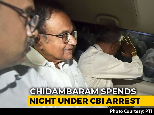 Video : P Chidambaram In Court Today, Kept At CBI Office After Dramatic Arrest
