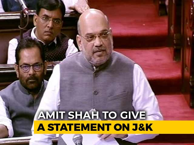 Video : PM Meets Cabinet Amid J&K Turmoil, Amit Shah To Speak In Parliament Shortly