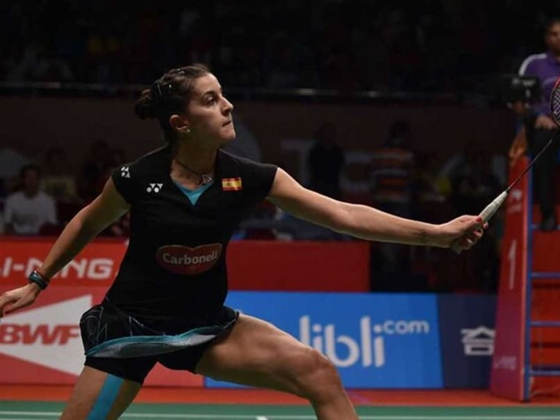 Carolina Marin Pulls Out Of World Championships Due To Knee Injury