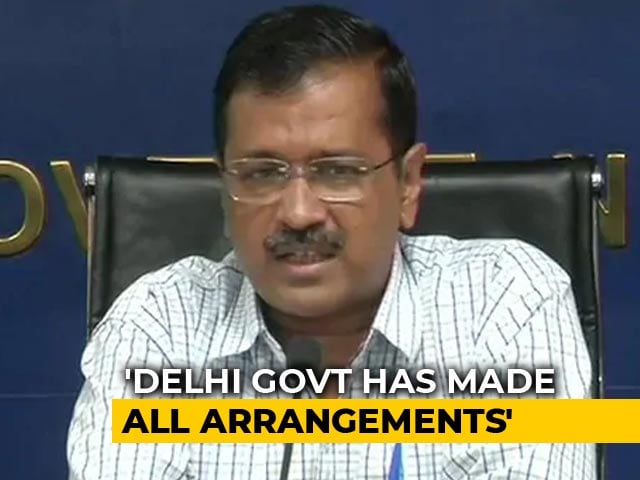 Video : Arvind Kejriwal Urges People To Move To Safer Places As Yamuna Swells