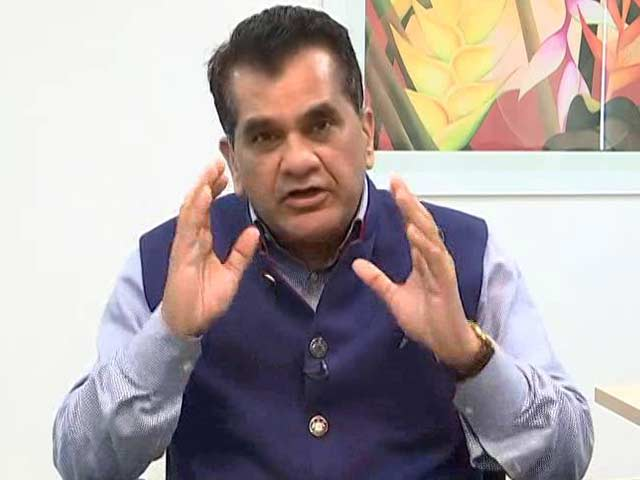 Video : Challenge Is Converting The Movement Of Health And Nutrition Into <i>Jan Andolan</i>: Amitabh Kant