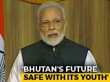 Video : PM Modi Speaks At Royal University Of Bhutan