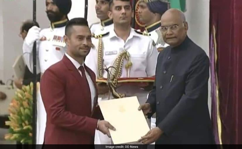 Gaurav Gill Becomes The First-Ever Recipient Of The Arjuna Award In Motorsport