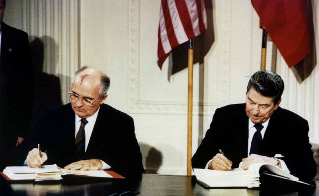 US Exits Soviet-Era Nuclear Missile Accord, To Accelerate Missile Program