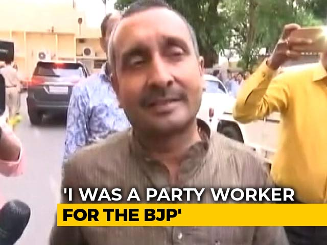 "Video : ""Pray To God For Her Recovery"": Kuldeep Singh Sengar On Unnao Survivor"