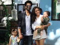 Inside Misha's Birthday Party: Shahid Kapoor, Mira Rajput Welcome AbRam And Inaaya
