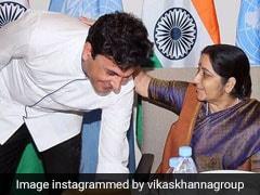 """Spirit Of Mother India"": Chef Vikas Khanna's Tribute To Sushma Swaraj"