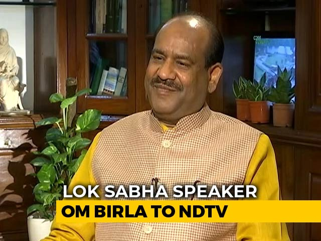 Video : Want Modern, Hi-Tech Parliament By 2022, Says Lok Sabha Speaker Om Birla
