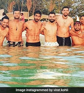Kohli Enjoys 'Stunning Day At Beach With Boys' Ahead Of West Indies Tests