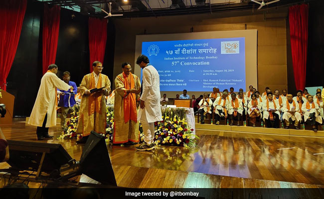 IIT Bombay Holds 57th Convocation, 385 PhD Degrees Awarded