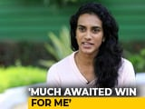 "Video : ""World Championships Win Proud Moment For The Country,"" Says PV Sindhu"