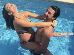 Amy Jackson, 35 Weeks Pregnant, Makes A Splash On Instagram With Fiance