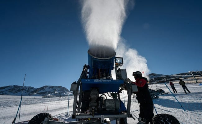 Fake Snow To Rescue As Climate Change Forces Ski Stations To Innovate