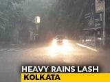 Video : 1 Dead, 15 Injured As Heavy Rain Batters Kolkata, Disrupts Flights