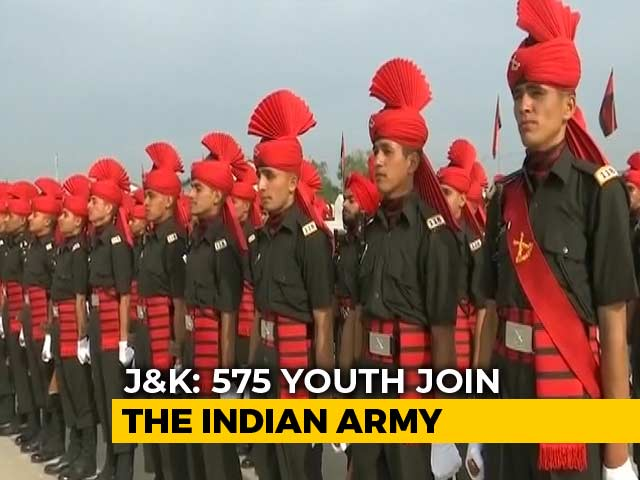 Video : 575 Join Indian Army In Jammu And Kashmir Amid Lockdown