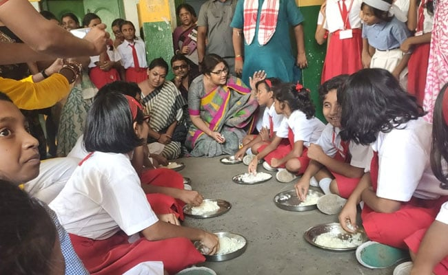 Rice-And-Salt Meal For Bengal Schoolgirls Triggers Trinamool-BJP Row