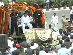 Arun Jaitley Cremated With State Honours, Top Leaders Present