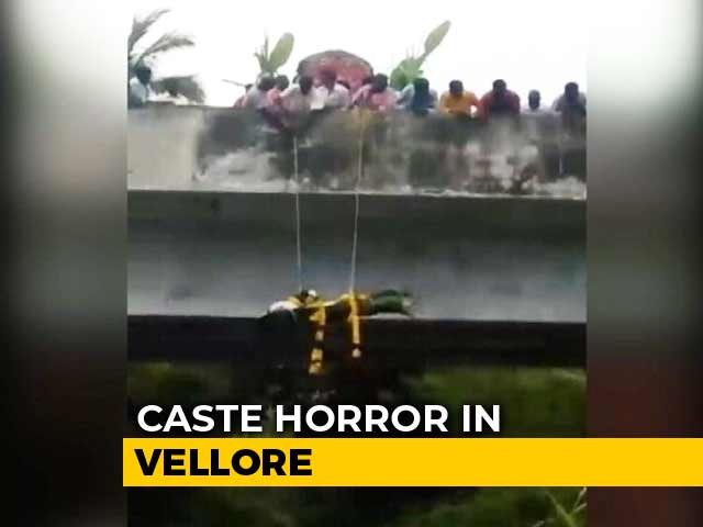 Video : Denied Road To Cremation Ground, Dalits Dangle Body Off Tamil Nadu Bridge