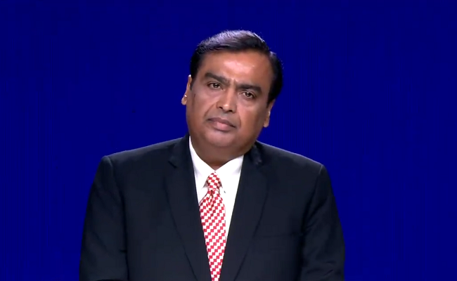 Ongoing Slowdown In Economy 'Temporary': Mukesh Ambani