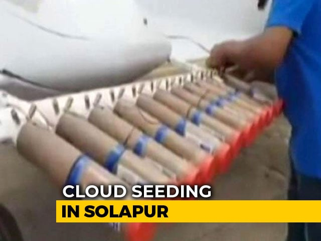 Video : As Maharashtra's Sangli Recovers From Flood, Cloud Seeding In Solapur To Induce Rain