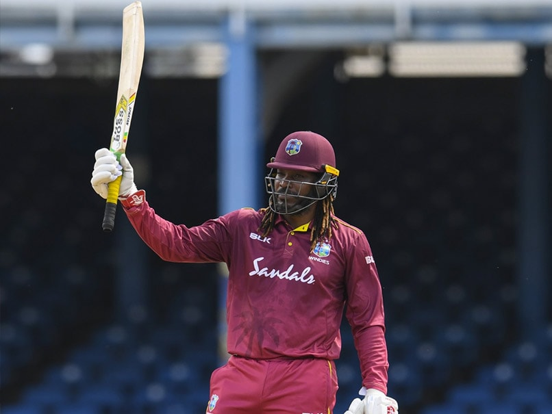 Team India congratulate Chris Gayle as he looks set to bid farewell to ODIs after 72-run-knock