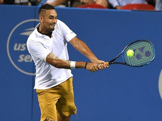 Tennis मैच हार रहे निक किर्गियोस ने आपा खोया, रैकेट तोड़ा, देखें VIDEO