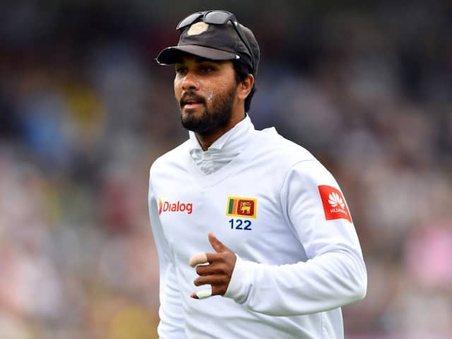 Sri Lanka Name Dinesh Chandimal In Preliminary Squad For New Zealand Tests