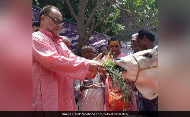 BJP Leader Bukkal Nawab Says He Will Tie Rakhi To Cows On Raksha Bandhan