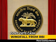 Video: Amid Slowing Growth, RBI To Make Rs 1.76 Lakh-Crore Payout To Government