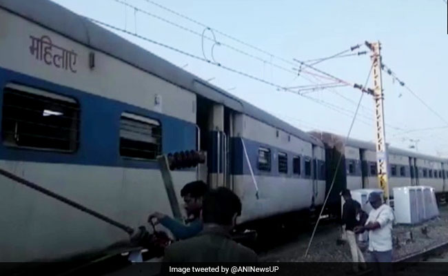 2 Coaches Of Intercity Train Derails At Kanpur Station, Passengers Safe