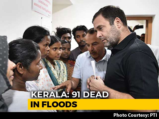 Video: 'Truly Humbling,' Rahul Gandhi Tweets After Visiting Flood-Hit Wayanad
