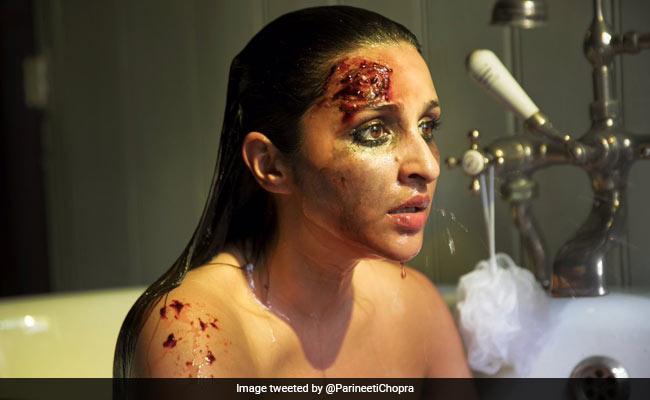 माथे पर चोट और खून से लथपथ नजर आईं परिणीति चोपड़ा, जानिए क्या है वजह