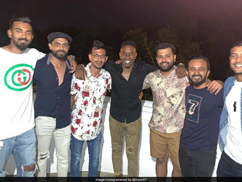 """Dwayne Bravo Parties With """"Brothers From India"""" At Brian Laras Residence. See Pictures"""
