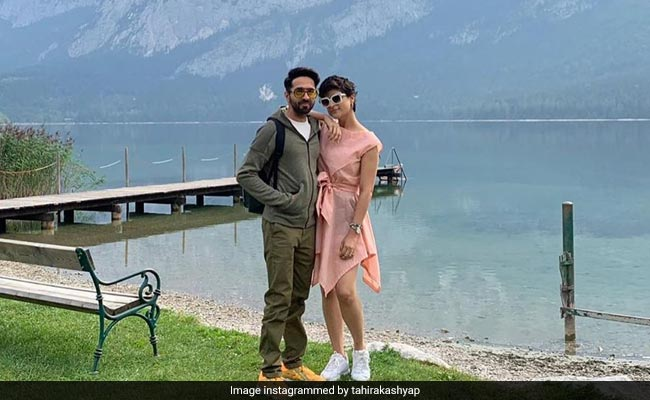 Pics From Ayushmann Khurrana And Tahira Kashyap's Vacation In Austria
