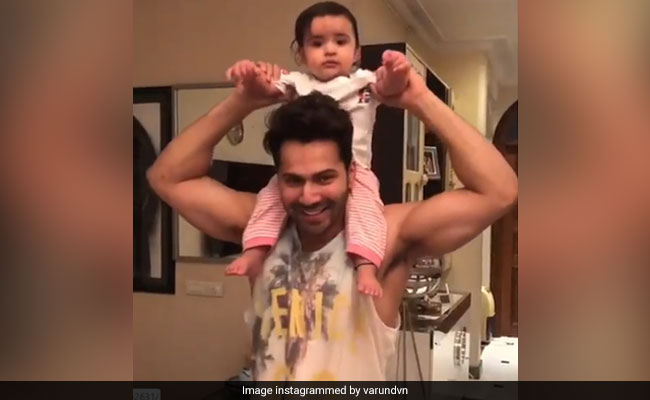 Varun Dhawan Is 'Very Busy' On Day Off With 'Chachu No 1' Duties, Courtesy His Niece