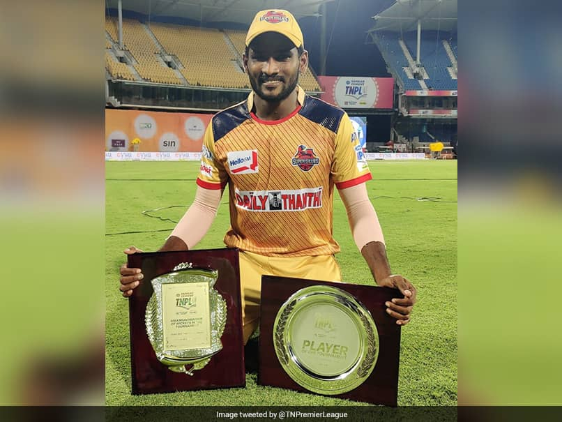 Yorker man G. Periyaswamy claims five-wickets in TNPL final
