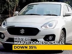Video: Maruti Suzuki July Sales Fall 33%, Biggest Drop Of 2019