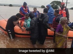 5 Navy Teams Mobilised For Flood-Hit Districts Of Maharashtra