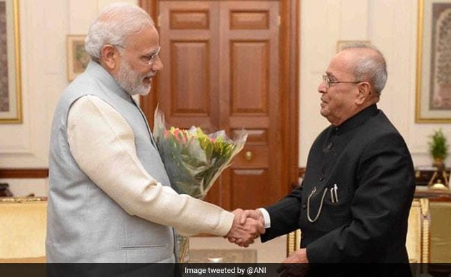 PM Says 'Honour To Witness' Pranab Mukherjee Award As Gandhis Stay Away