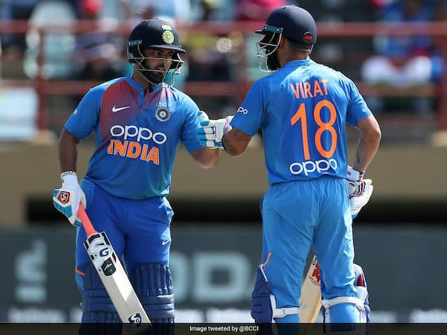 Virat Kohli Says After T20I Series Win That They Are Looking At Rishabh Pant A Future
