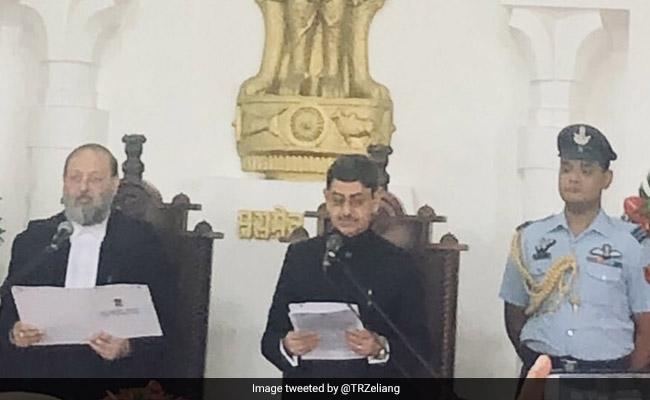 RN Ravi Sworn In As Nagaland Governor