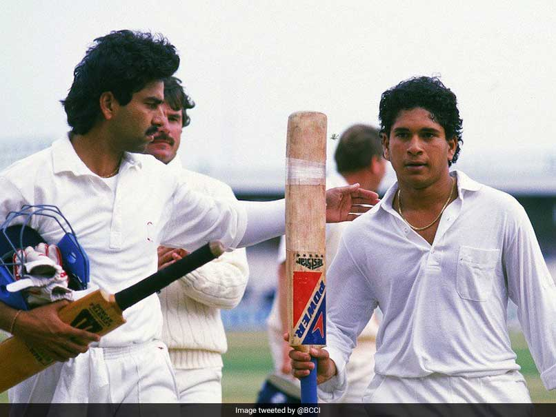 """On This Day"" A 17-Year-Old Sachin Tendulkar Scored His Maiden International Century"