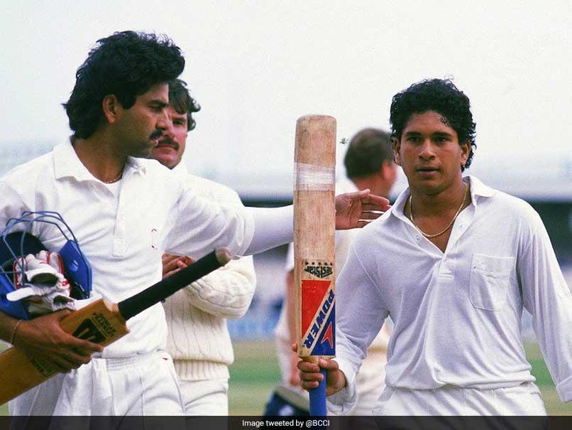 Sachin Tendulkar, 17, Scored His Maiden International Century On ...