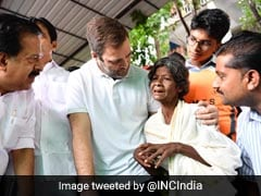 """We're With You,"" Rahul Gandhi Tells His Flood-Hit Constituency Wayanad"
