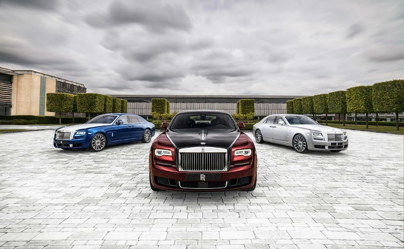 The Rolls-Royce Ghost was instrumental in bringing down the average of the brand's buyer to 43 years