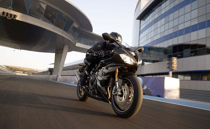 Triumph has unveiled Daytona 765 ahead at the Silverstone circuit during the MotoGP British Grand Prix.
